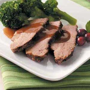 Beef Brisket with Cranberry Gravy Recipe
