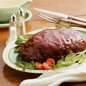 Home-Style Glazed Meat Loaf Recipe