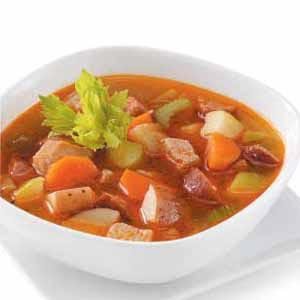 Vegetable Pork Soup Recipe