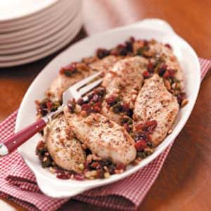 Herbed Cranberry Chicken Recipe