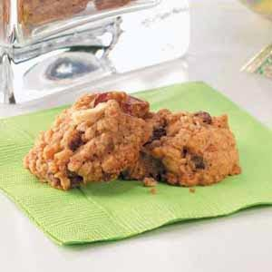 Cran-Apple Oatmeal Cookies