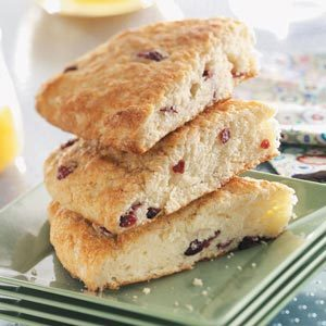 Cranberry Coffee Cake Wedges