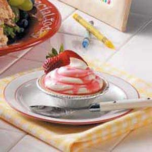 Strawberry Swirl Mousse Tarts Recipe