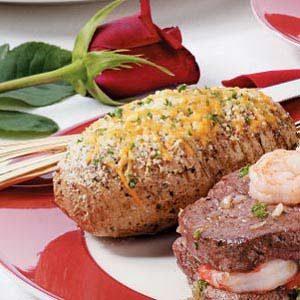 Seasoned Fan Potatoes Recipe