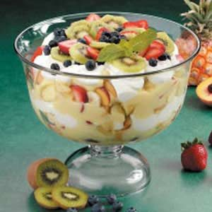 Six-Fruit Trifle Recipe