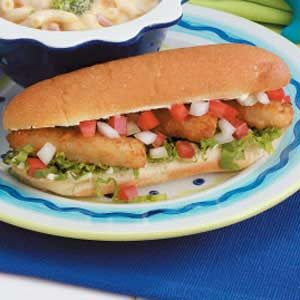 Fish Stick Sandwiches Recipe