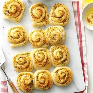 Italian Pinwheel Rolls Recipe