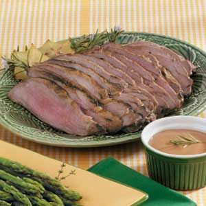 Dijon Leg of Lamb