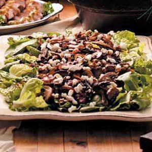 Warm Mushroom Salad Recipe photo by Taste of Home