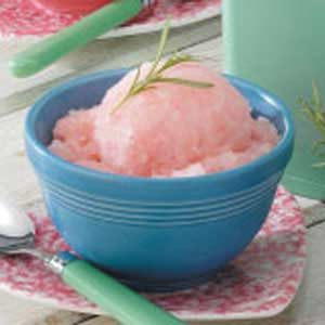 Rosemary Citrus Sorbet Recipe