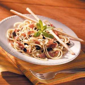 Pronto Prosciutto Pasta Recipe