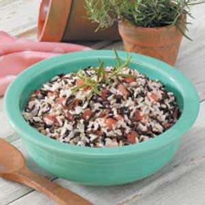 Wild Rice Tomato Medley Recipe