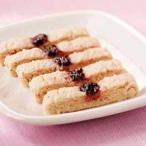 Raspberry Almond Strips Recipe