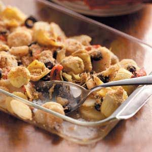 Antipasto Potato Bake Recipe