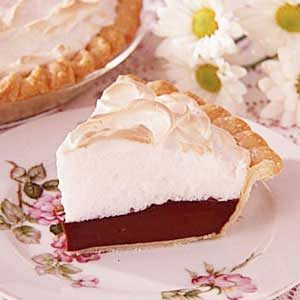 Grandma's Chocolate Meringue Pie