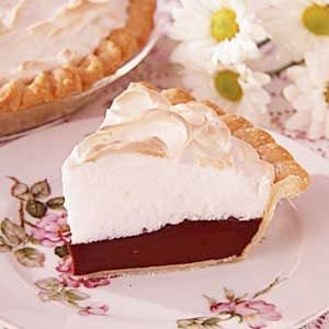 Grandma's Chocolate Meringue Pie Recipe