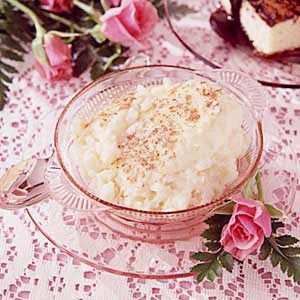 Old-Fashioned Rice Custard Recipe