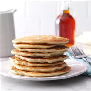 Golden Oat Pancakes Recipe