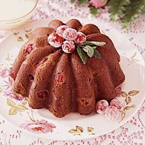 Steamed Cranberry Pudding Recipe