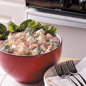 Quick Crab Pasta Salad Recipe
