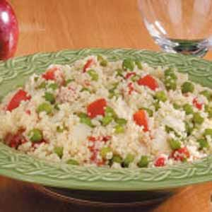 Tomato Pea Couscous Recipe