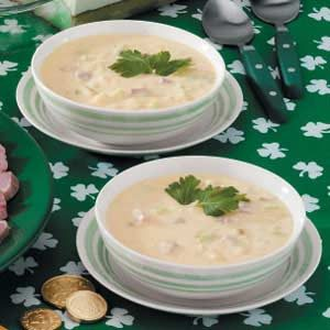 Slow-Cooked Potato Soup