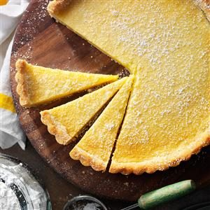 Shortbread Lemon Tart Recipe