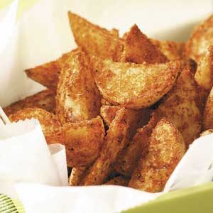 Seasoned Yukon Gold Wedges Recipe