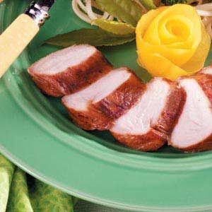 Grilled Turkey Tenderloins with Ginger-Garlic Marinade Recipe