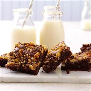 Fudge Nut Brownies Recipe