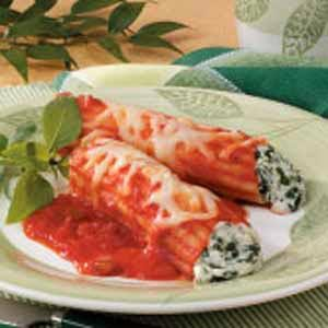 Spinach Manicotti Recipe
