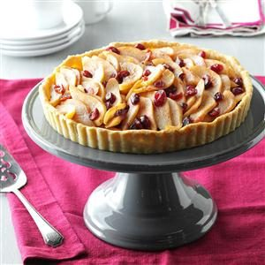 Cranberry Pear Tart Recipe