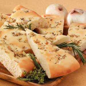 Herb Focaccia Bread Recipe
