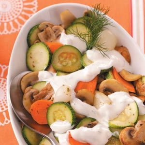 Vegetables in Dill Sauce Recipe