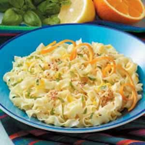 Sesame Seed Citrus Noodles Recipe