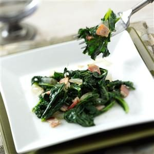 Kale with Bacon Recipe