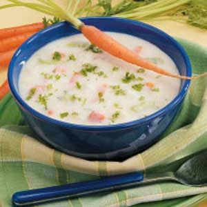 Creamy Chunky Potato Soup Recipe