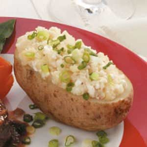 Stuffed Potatoes with Cheese