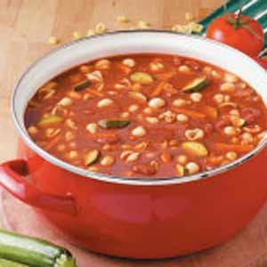Hearty Turkey Vegetable Soup