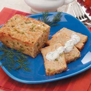 Mini Salmon Loaf Recipe