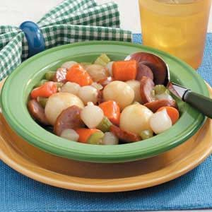 Kielbasa with Veggies Recipe