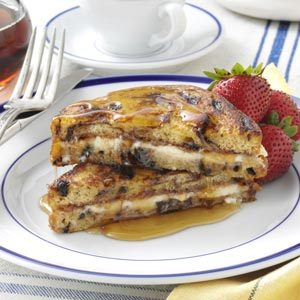 Jam 'n' Cream French Toast Recipe