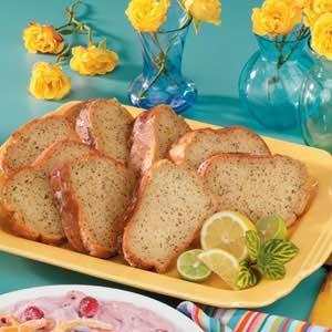 Poppy Seed Lemon Cake Recipe