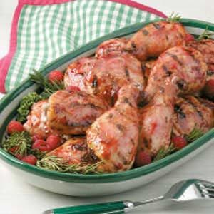 Grilled Raspberry Chicken Recipe