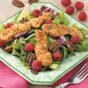 Crispy Chicken Strip Salad Recipe