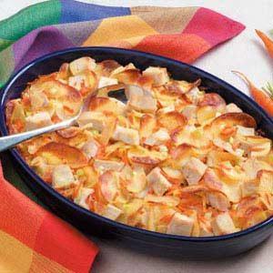 Scalloped Chicken Supper Recipe