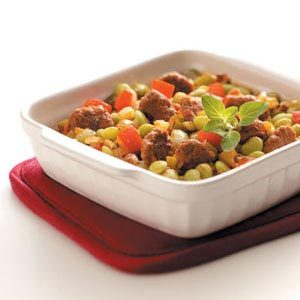 Hearty Lima Bean Bake Recipe