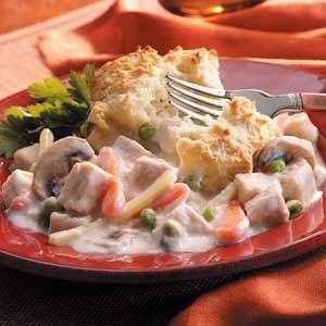 Makeover Turkey Biscuit Bake Recipe