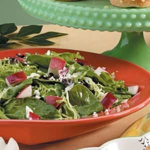 Mixed Greens and Apple Salad Recipe
