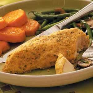 Crumb-Coated Baked Chicken Recipe